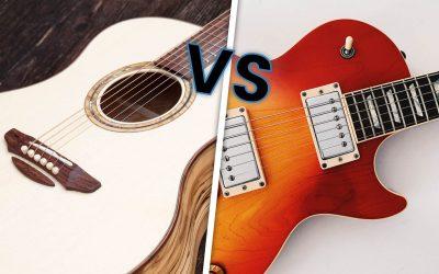 Dois-je acheter une guitare acoustique ou électrique ?