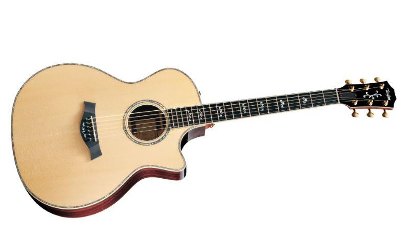 Forme de guitare acoustique de forme Auditorium