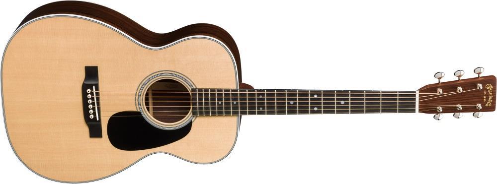 Forme de guitare acoustique de type Concert