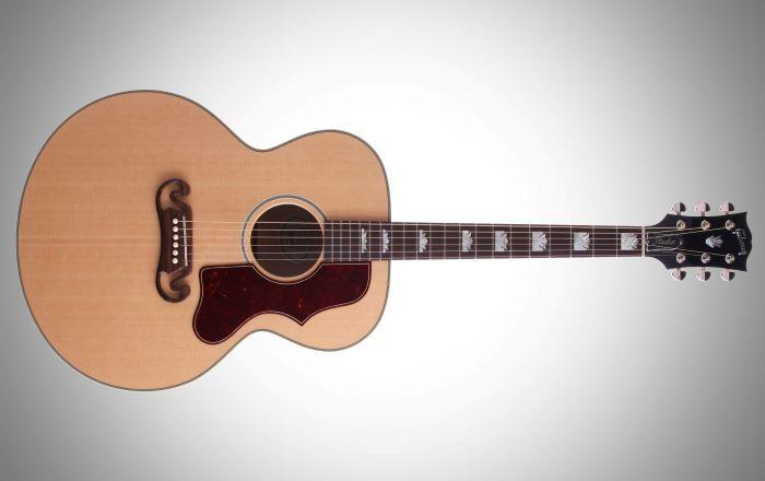 Forme de guitare acoustique de type Jumbo