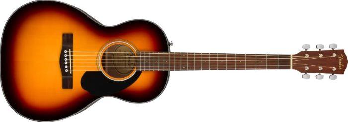 Forme de guitare acoustique de type Parlor