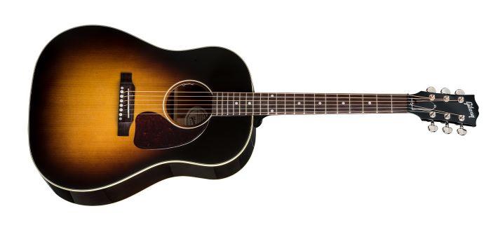 Forme de guitare acoustique de type Round Shoulder