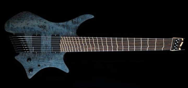Guitare avec frettage True Temperament