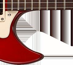 Cutaway guitare electrique